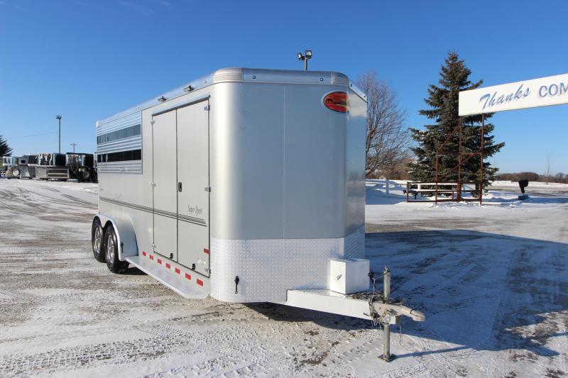 2020 Sundowner Trailers 3HR SuperTack BP Horse Trailer