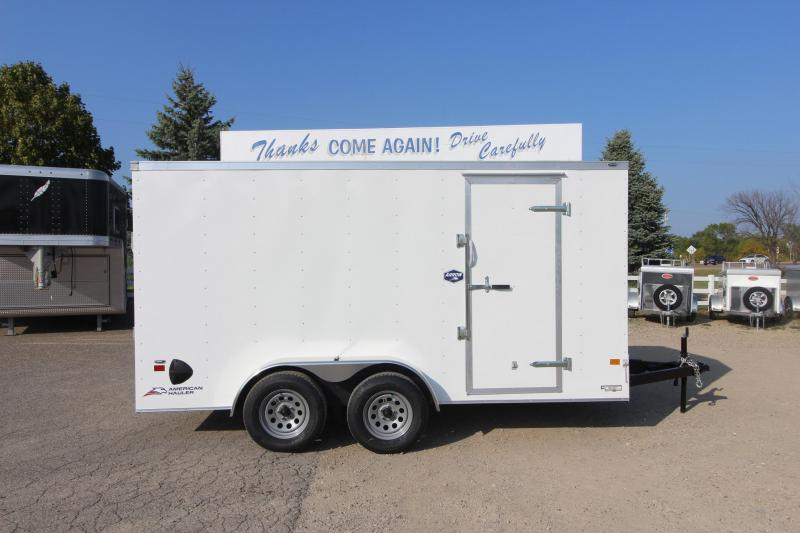 2021 American Hauler Arrow 7x14 Enclosed Cargo Trailer