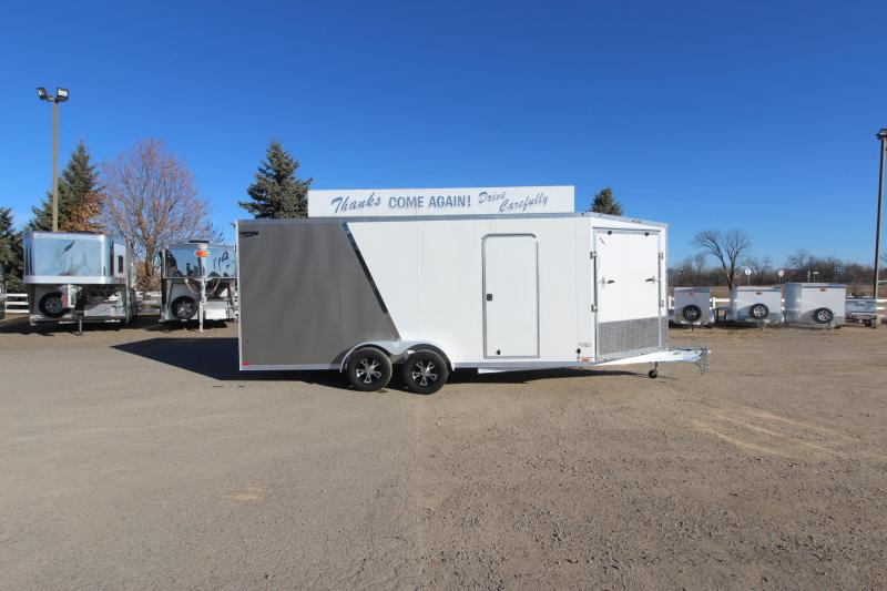 2019 Lightning Trailers 7x18 Snowmobile Trailer