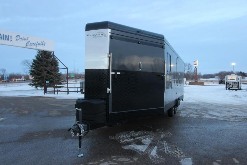 2021 Trails West RPM 28' BP Snowmobile Trailer