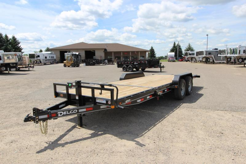 "2021 Delco Trailers 14K Tilt Bed 83""x22' Car / Racing Trailer"