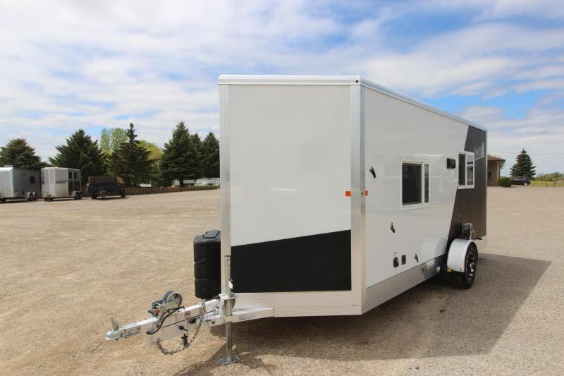 2018 Yetti 6.5x16 Ice/Fish House Trailer