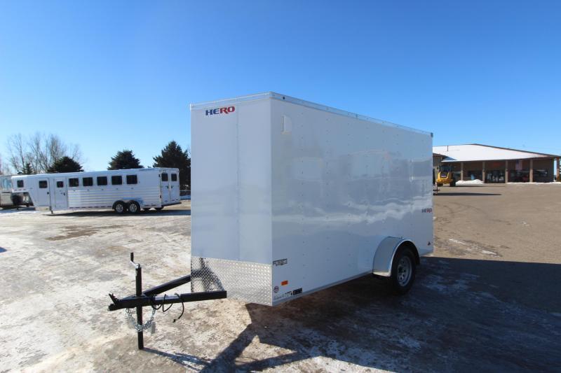 2021 Bravo Trailers 6x12 Hero Enclosed Cargo Trailer