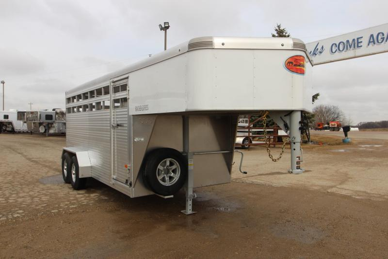 2021 Sundowner Trailers 16' GN Livestock Trailer
