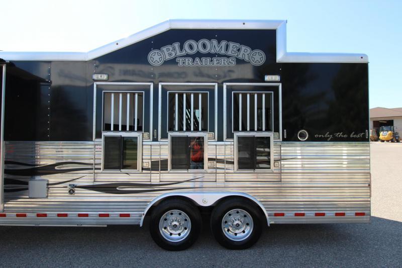 2014 Bloomer 3HR 16' LQ Horse Trailer