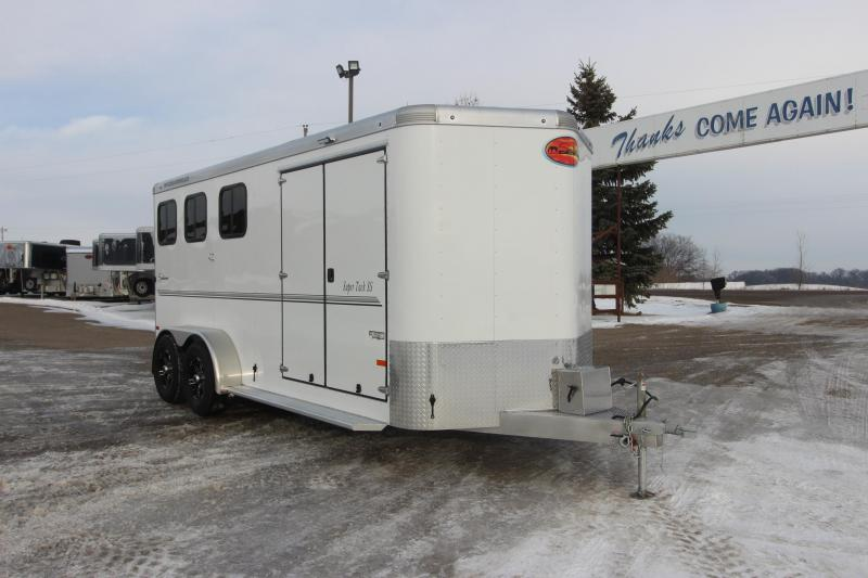 2021 Sundowner Trailers 3HR Super Tack BP Horse Trailer