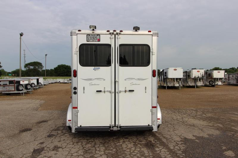 2007 Sundowner Trailers 2HR GN Horse Trailer