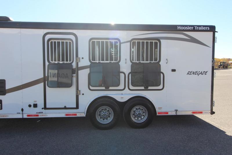 2017 Hoosier Horse Trailers 3HR 10' LQ Horse Trailer