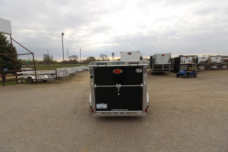 2021 Sundowner Trailers Mini Go 5x8 Enclosed Cargo Trailer