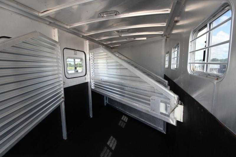 1997 Exiss Trailers Extreme SX 4HR with 11' Horse Trailer