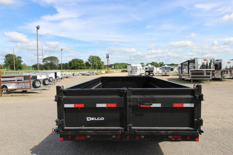 2021 Delco Trailers 14' BP Dump Trailer