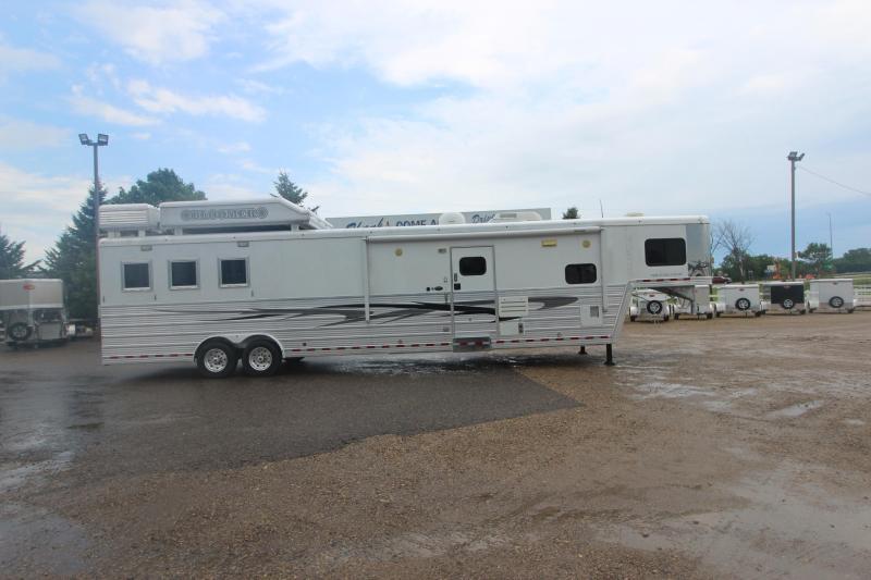 2011 Bloomer 3HR 15' LQ MT Horse Trailer