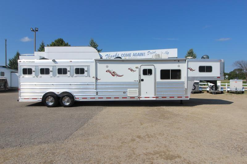 2013 Platinum Coach 4HR 15' Horse Trailer