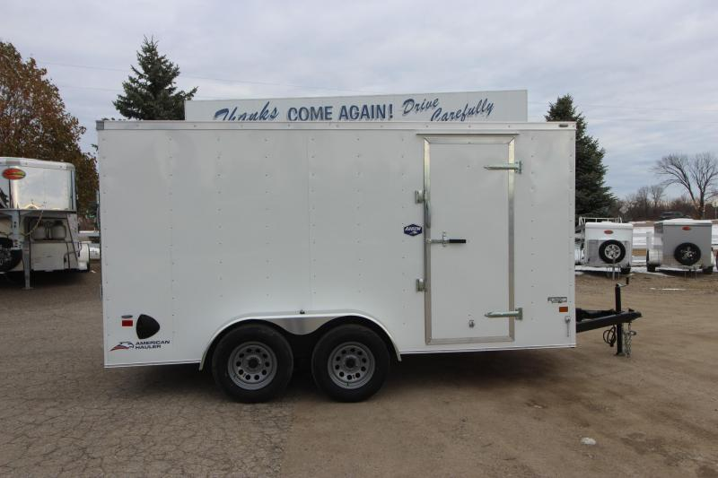 2021 American Hauler 7x14 Enclosed Cargo Trailer