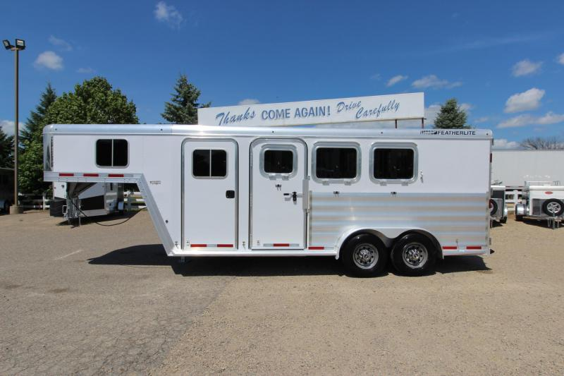 2016 Featherlite 3HR GN Horse Trailer