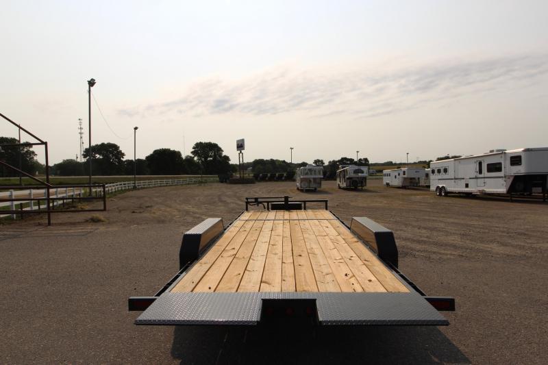 2021 Delco Trailers Power Tilt 22' Equipment Trailer