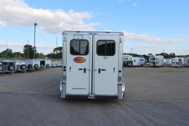 2021 Sundowner Trailers 3HR GN Santa Fe 6906 Horse Trailer
