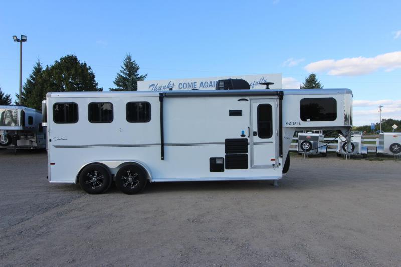 2021 Sundowner Trailers 3HR GN Santa Fe 6906 Horse Trailer