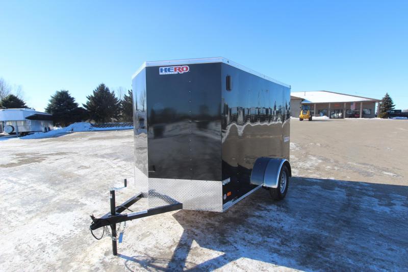 2021 Bravo Trailers 6x10 Hero Enclosed Cargo Trailer