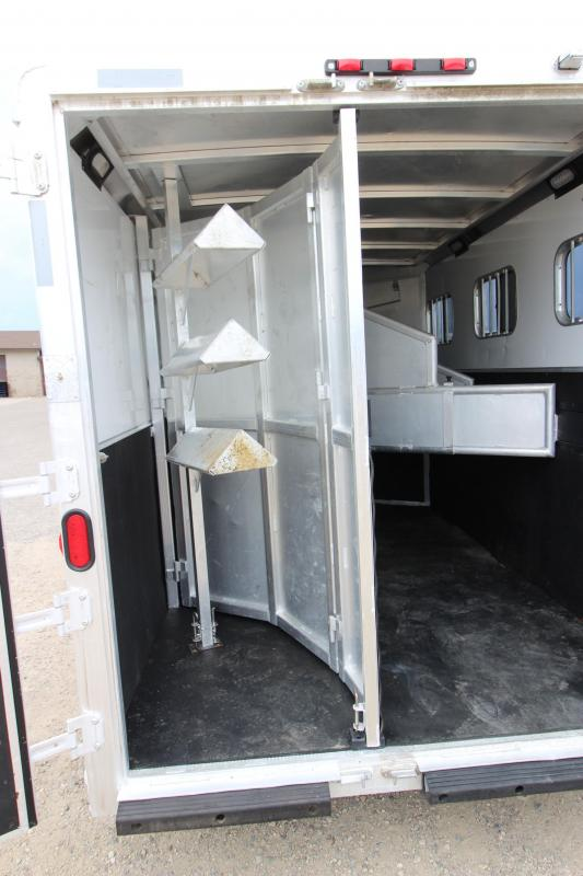 2005 Exiss Trailers 3HR Weekender Horse Trailer