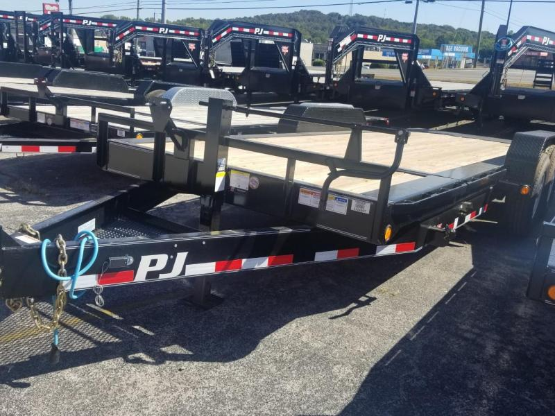 2020 PJ Trailers TK202 HD Equipment Tilt Trailer