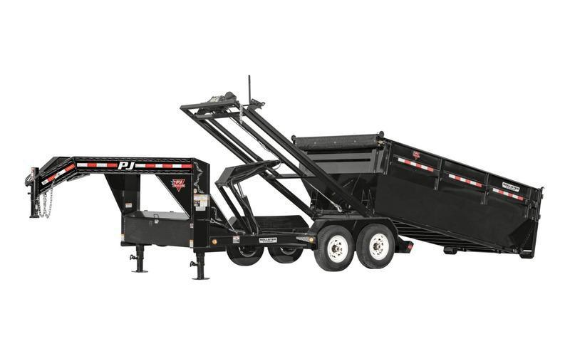 2021 PJ Trailers 14' Rollstera Roll Off Dump Trailer