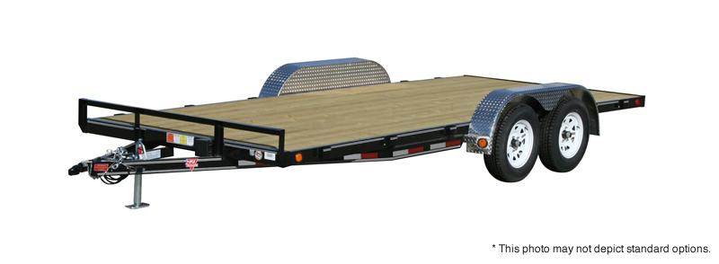 "2021 PJ Trailers 18' x 4"" Channel Carhauler Trailer"