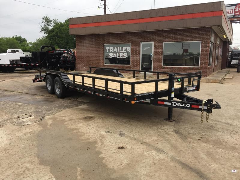 2021 Delco Trailers BC102X2427K Equipment Trailer