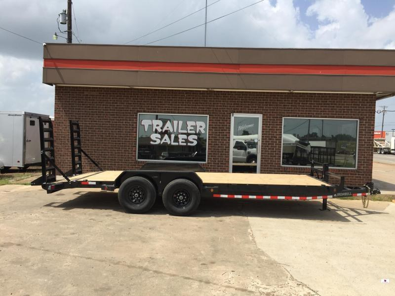 2020 Iron Bull ETB8320072 Equipment Trailer