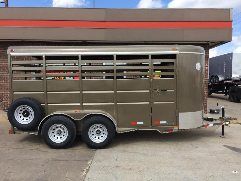 2021 Delco Trailers BS6X1626 Livestock Trailer