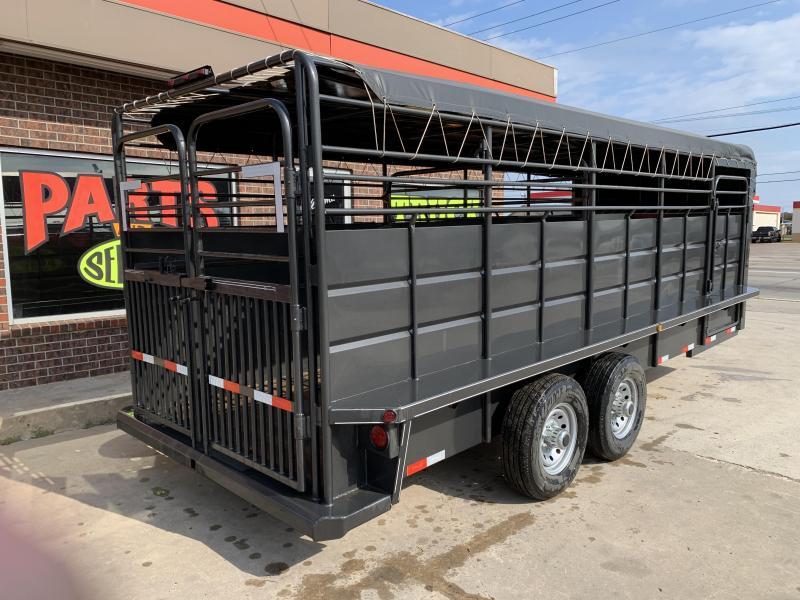 2019 Delco Trailers GB68X2027K Livestock Trailer