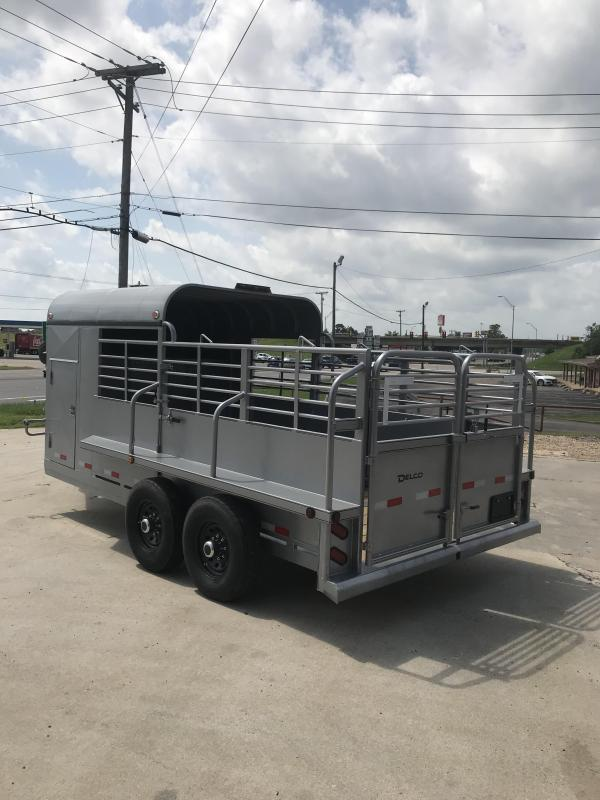 2019 Delco Trailers GP6816270 Livestock Trailer