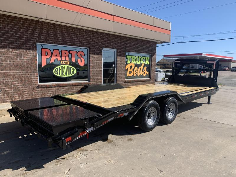 2021 Delco Trailers C924R72MK Equipment Trailer
