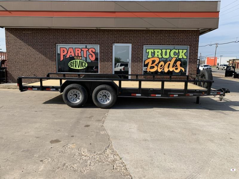 2021 Delco Trailers C620A72SK02964 Equipment Trailer