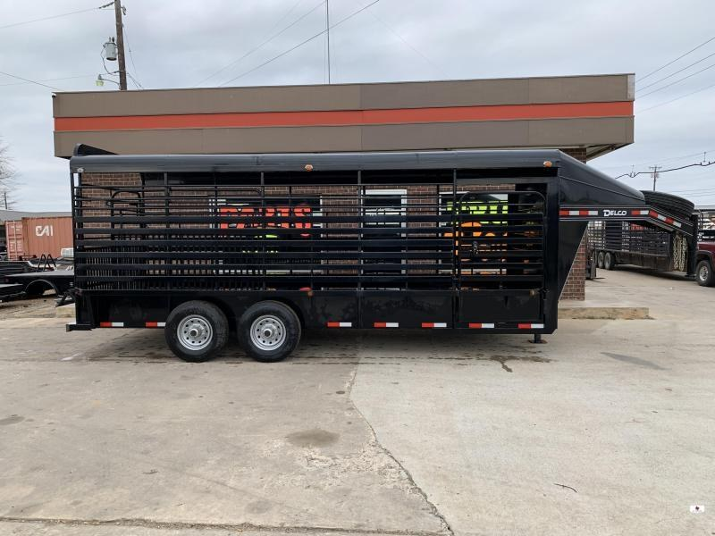 2019 Delco Trailers GM68X2027K Livestock Trailer