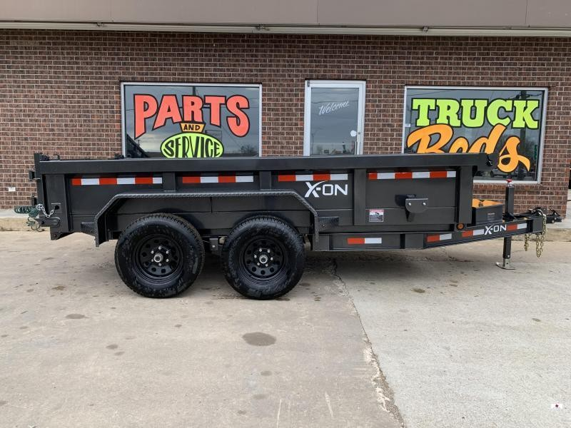 2021X-ON Trailers D712A62WK Dump Trailer