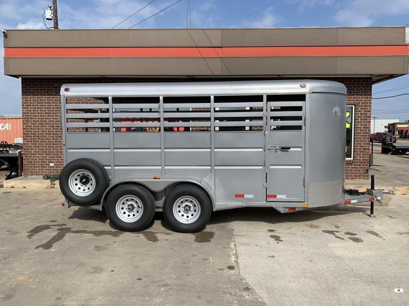 2021 Delco Trailers S816A62RS00807 Livestock Trailer
