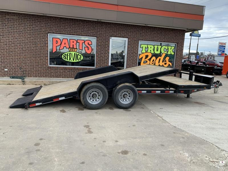 2019 Delco Trailers TD832027K Equipment Trailer