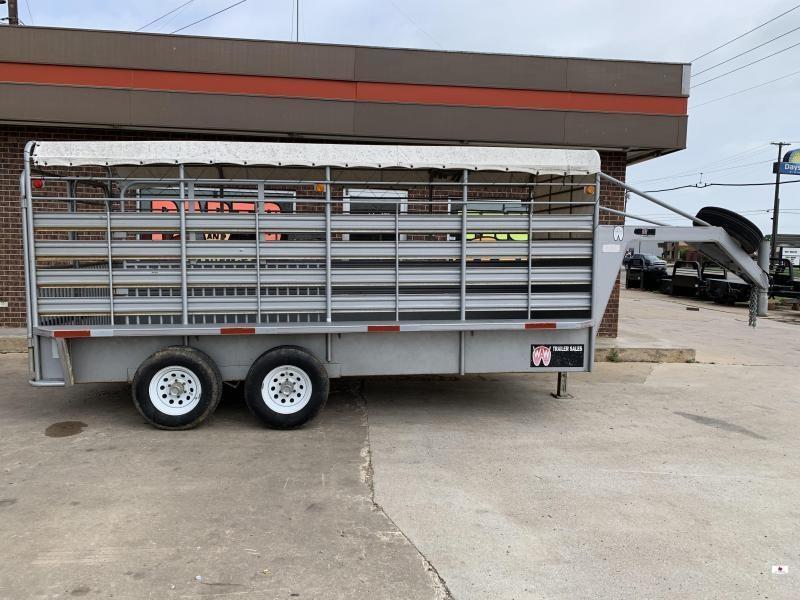 2003 W-W Trailer WW616252 Livestock Trailer