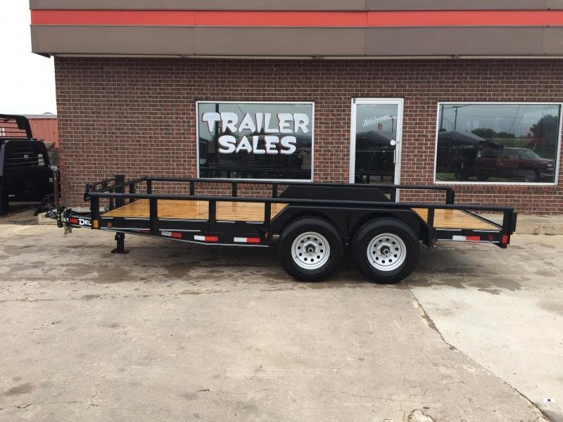 2021 Delco Trailers BC83X1626K Equipment Trailer