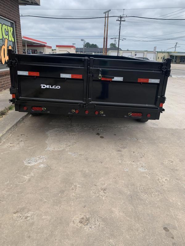 2021 Delco Trailers D816A72WK Dump Trailer