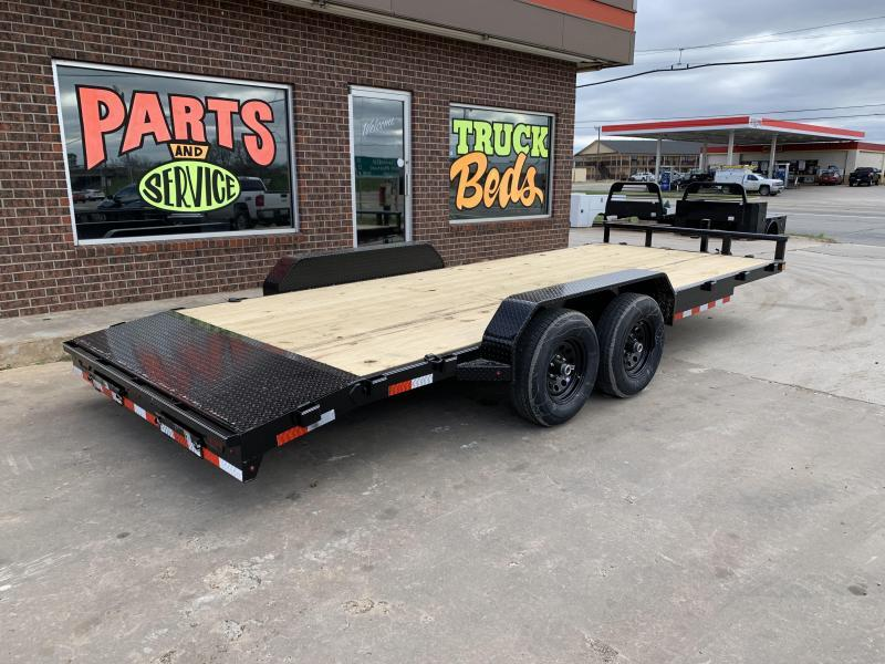 2021 Delco Trailers C420J62DK Equipment Trailer
