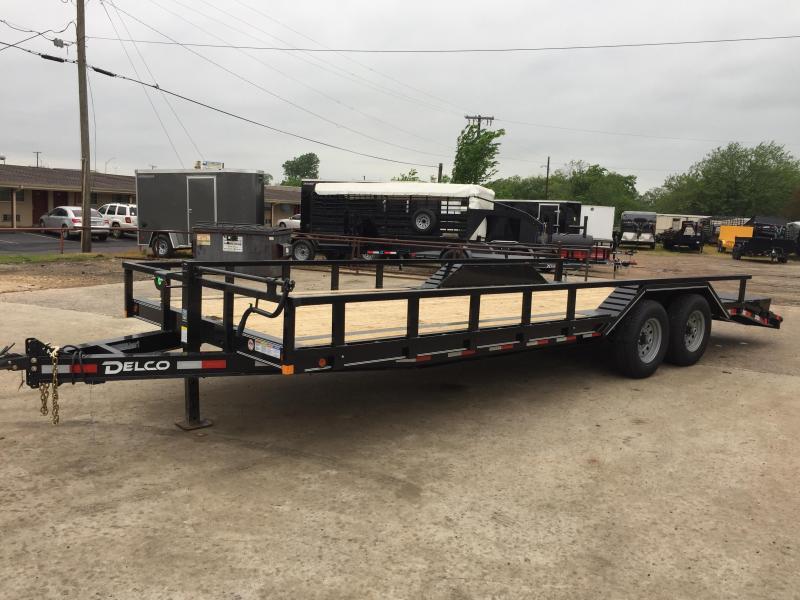 2020 Delco Trailers BC102X2427K Equipment Trailer