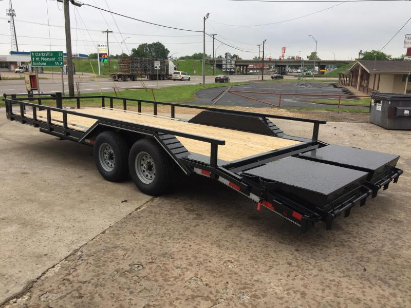 2020 Delco Trailers BC102X2427K Equipment Trailer