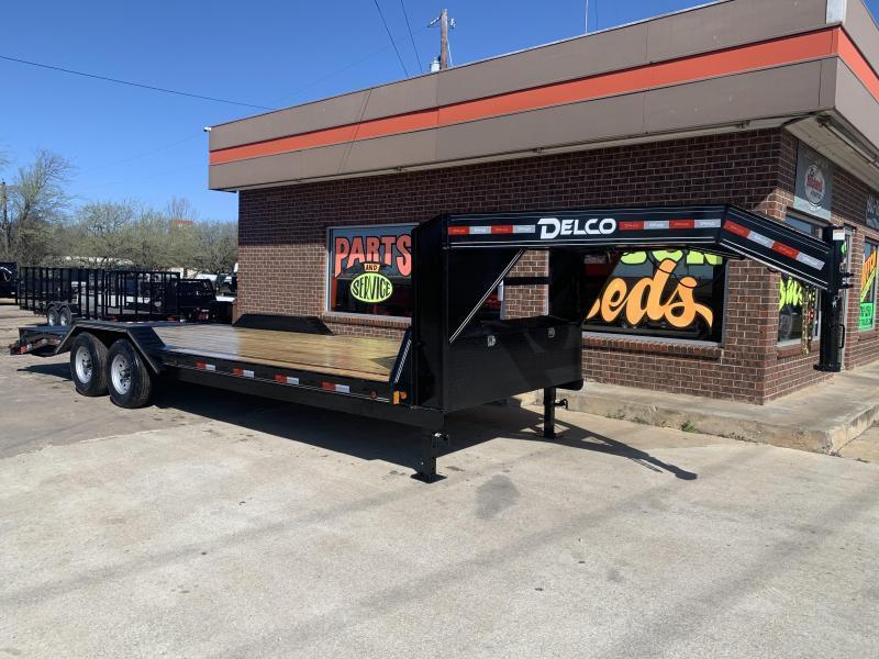 2022 Delco Trailers C924R7M2K Equipment Trailer