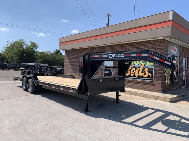 2022 Delco Trailers C924R72DK Equipment Trailer