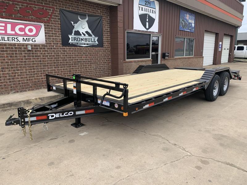 2021 Delco Trailers C722A72MK Equipment Trailer
