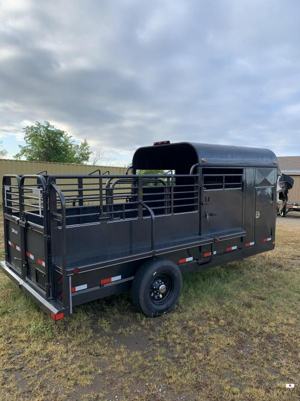 2020 Delco Trailers GP6X1617 Livestock Trailer
