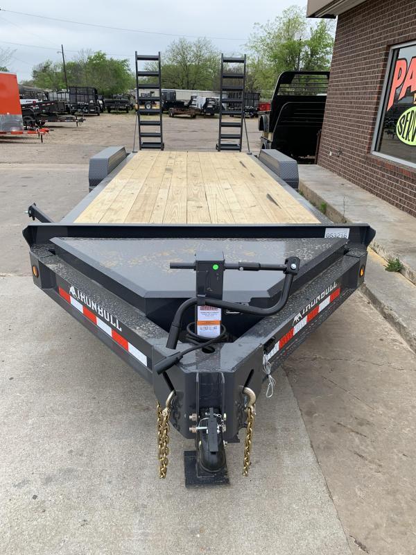 2021 Iron Bull EWB8320072 Equipment Trailer