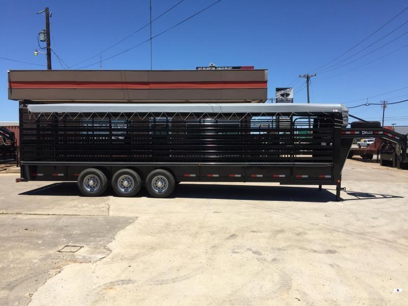 2021 Delco Trailers GB68X2837K Livestock Trailer